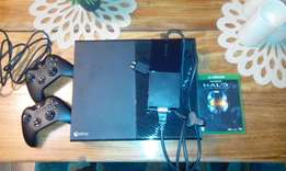 Xbox one 500GB for sale.