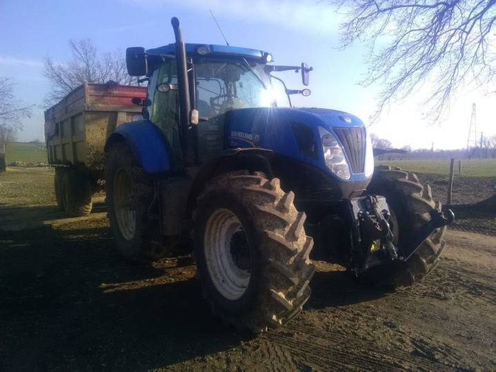 New Holland T7.250 Pc - 2013