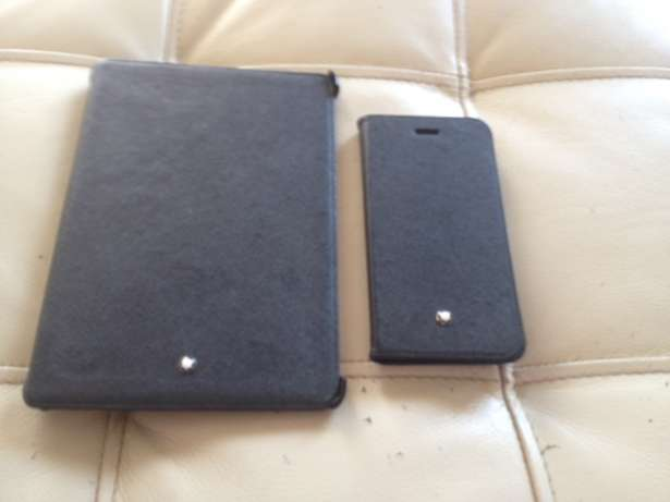Mont Blanc IPadmini 2 and iPhone 6 or 6s hard covers for sale Bruma - image 3