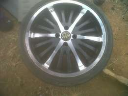 17 inch mags n tyres