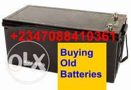 Collecting Dead solar inverter Battery within Abuja