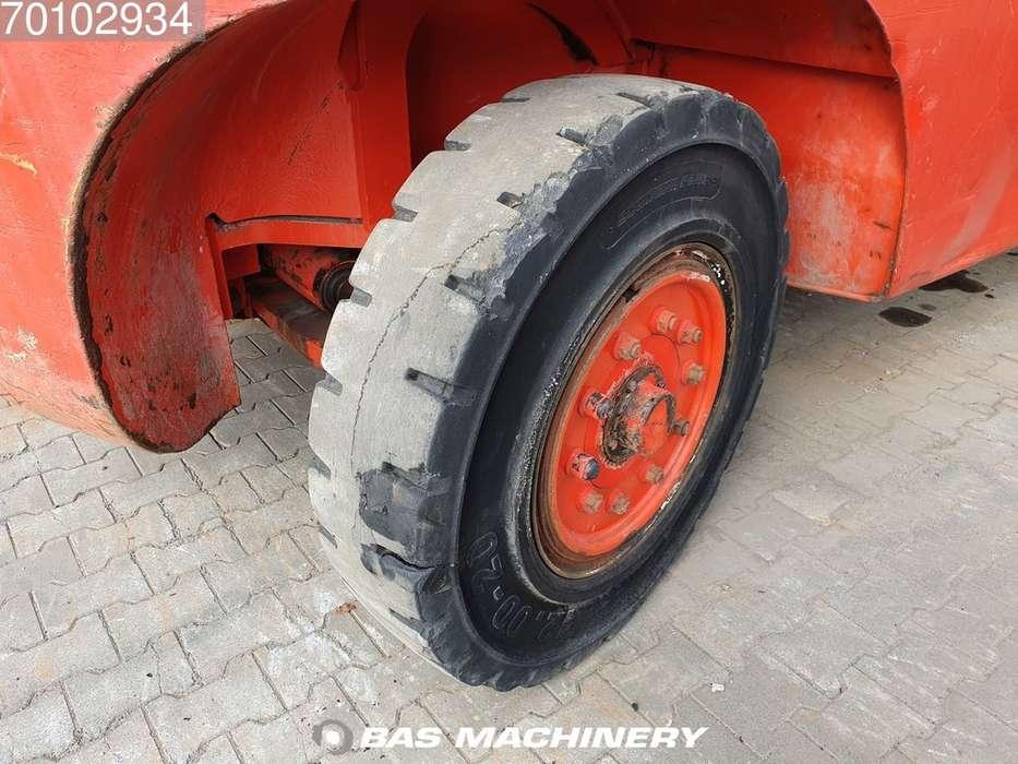 Linde H160-1200 Side shift - good tyres - 1993 - image 9