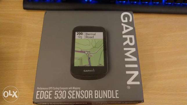 Garmin Edge bundle sensor 530
