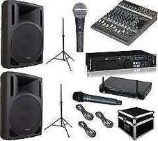 Sound System for Sales Promotions ,Roadshows