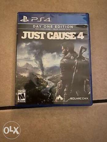 Just cause 4 Day one edition for PS4