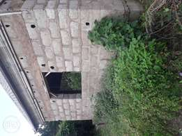 Uncompleted building for sale on 25/100 half a plot