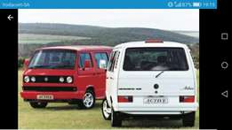 Microbus or carvelle wanted