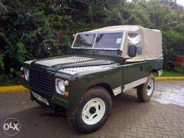 Land Rover 88. Series 3. Robust 4WD, vintage
