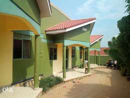 Executive two bedroom house is available for rent in kira at 400k