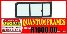Taxi side glass & frames Special!