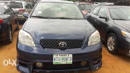 Cleaned Toyota matrix for sale