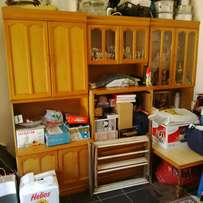 3 piece Oak Wall Unit for sale