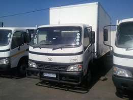 Toyota Dyna 4T Closed Body For Sale