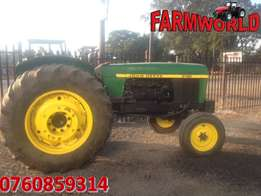 Green John Deere 3130 60kW/80Hp 2x4 Pre-Owned Tractor