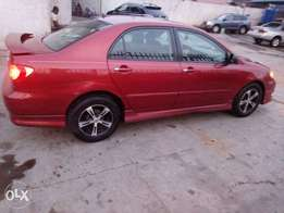 Super clean Toyota corolla sport 2006 model first body Xrra clean