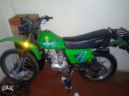 New motorcycle