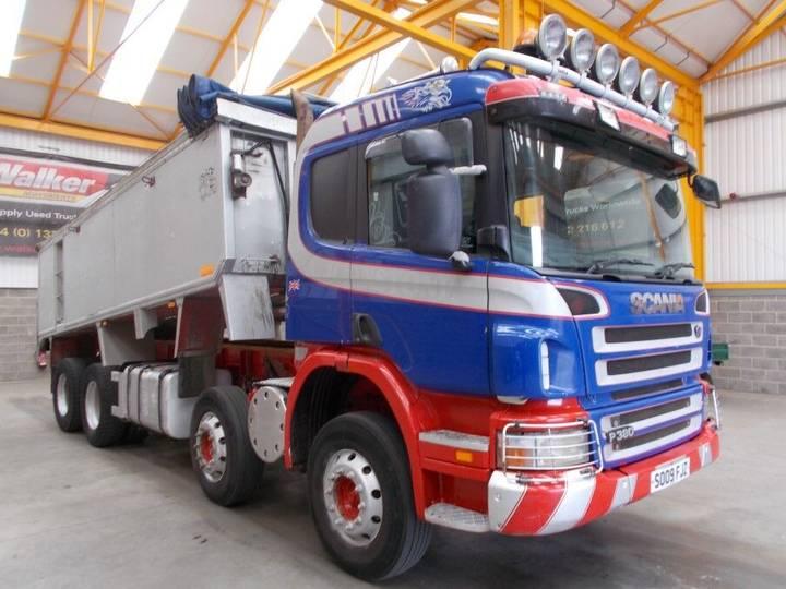 Scania P380 8 X 4 ALUMINIUM INSULATED TIPPER - 2009 - SO09 FJZ - 2009