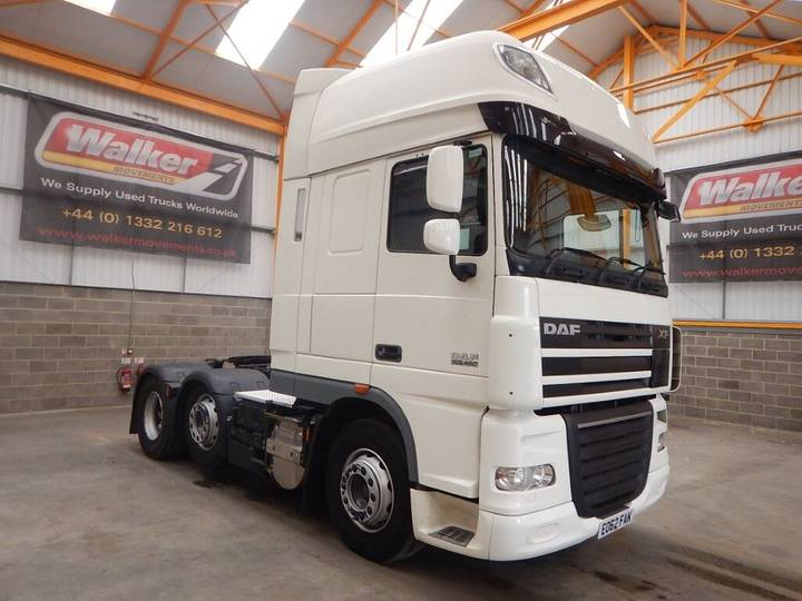 DAF XF105 460 SUPERSPACE EURO 5, 6 X 2 TRACTOR UNIT - 2012 - - 2012