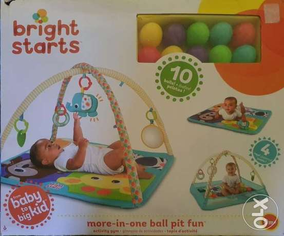 Ball pit activity gym for babies
