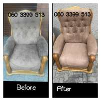 Upholstery & carpet steam cleaning