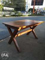 4ft x 3ft,Mahogany dining table. 2inch solid wood. Self made