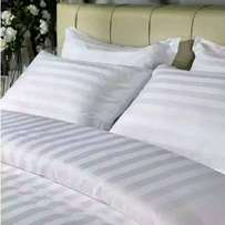 White stripe besheets 7*7