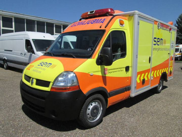 Renault Master 140 DCI*Rettungswagen*Trage*Klima*Koffer* - 2006
