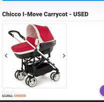 Chicco I-Move Carrycot - USED