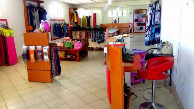 Stylish fully stocked cloth line shop Nyali - image 1