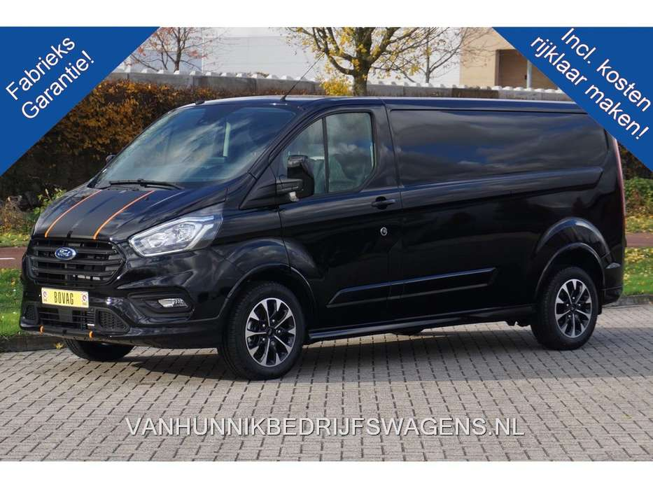 Ford Transit Custom 310L 170PK 2.0 TDCI Sport Airco, Camera Al... - 2019