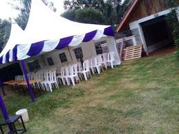 we sell, repair and hire event tables, tents and chairs