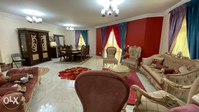 For rent furnished flat besides of the Auc