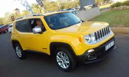 Jeep Renegade 1.6L MJET LIMITED Demo