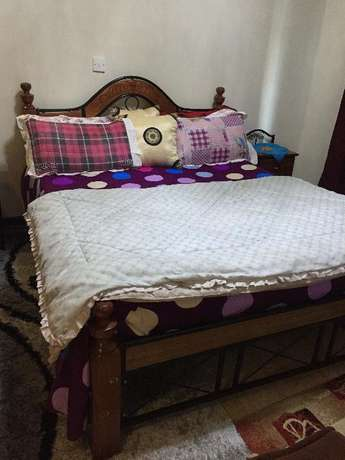 comfy huge bed of 5x6 with the mattress Kileleshwa - image 1