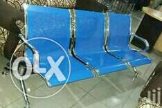 Quality 3in1 Blue Reception Office Chair