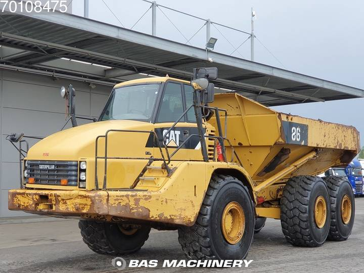 Caterpillar 740 6x6 Good tyres - clean machine - 2008