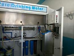 Water treatment machine (ATM)& Accessories for sale