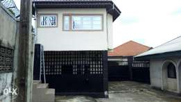 Detached 3bedrooms with self-contained BQ .