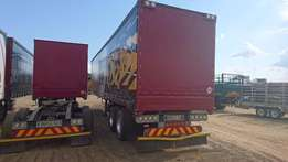 2014 SA Truck Bodies Tautliner with Air Suspension