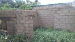 A piece of land for sale very cheap on decent a dry area at Igando