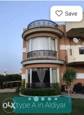 Type A 1250 m in Al diyar mokhabart compound _fully finished with pool