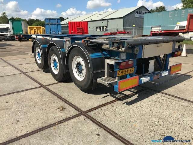 Burg 20 ft ADR containerchassis- 2x liftas BPO 12-27 CCXAX - 2005 - image 3