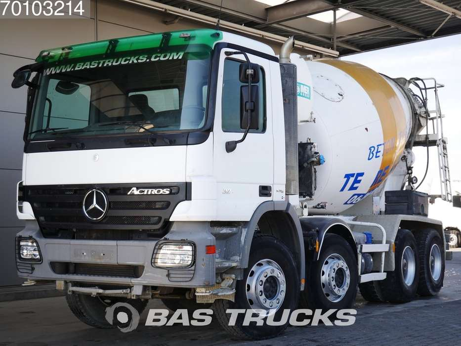 Mercedes-Benz Actros 3241 8X4 Big-Axle SteelSuspension 8m3 Hydraulik Eu... - 2008