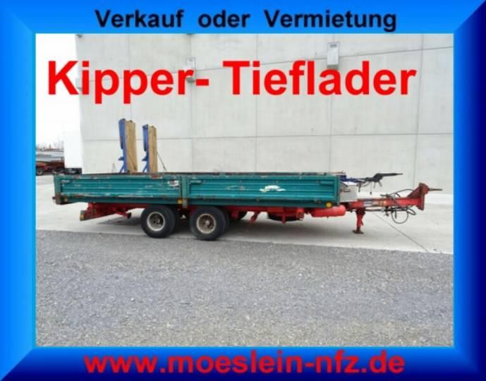 Langendorf TAK 9,5/6 Tandemkipper- Tieflader - 1994