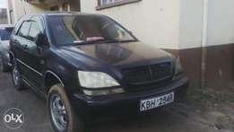 Toyota Harrier, KBH, auto, 2400cc, 4WD, in very good condition.