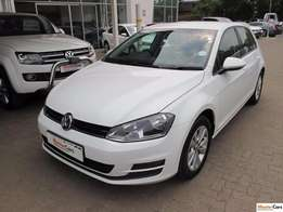 2014 VW Golf VII 1.4TSI Comfortline Only 67000km