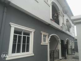 Newly built 2 bed room flat to let at akowonjo