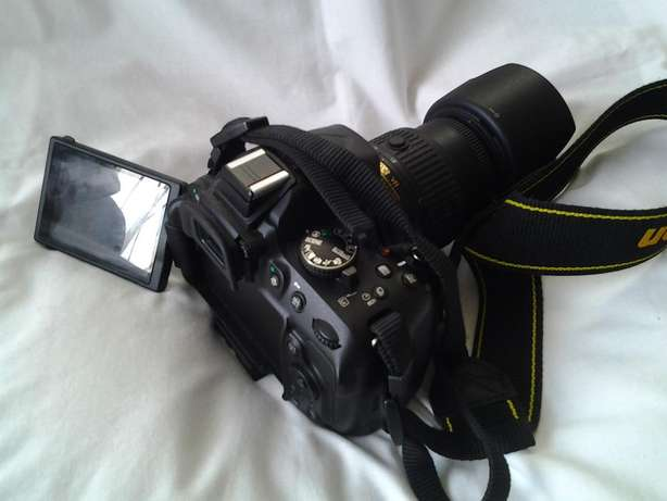 Almost Brand New Nikon D5200 with 18-55mm VR II Lens Miramar - image 5