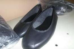 Hand Made Black Leather Ladies Pumps any sizes available wholesale R40