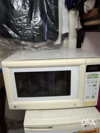 Microwave oven good condition interested cal pick ext 4 RIYAD no deliv